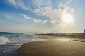 La playa perfecta cerca del aeropuerto
