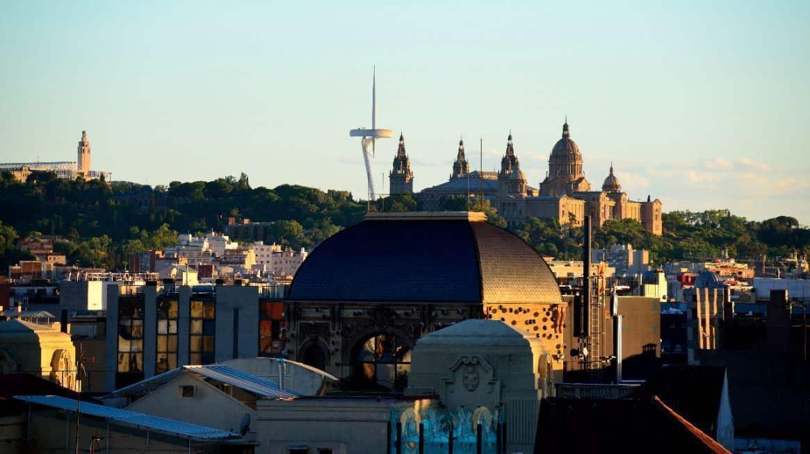 Se pueden identificar desde las alturas los monumentos más emblemáticos de nuestra ciudad