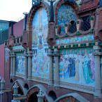 Detalle del Palau de la Música