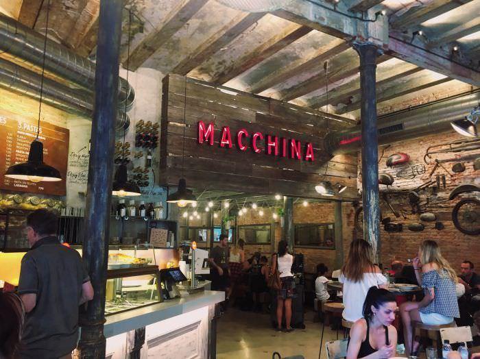 Macchina pasta bar artesanal