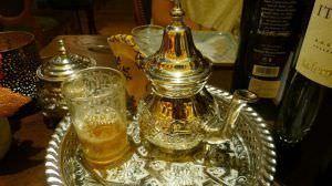 El tradicional té a la menta.