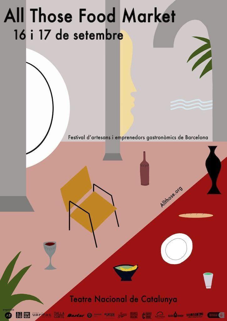 All those food market edici n especial en el teatre for Teatre nacional de catalunya