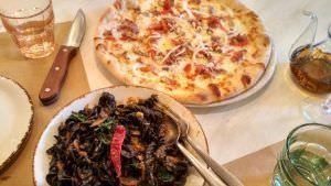 Más de doce variedades de pizza