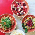 Salir a comer no está reñido a disfrutar de una comida saludable