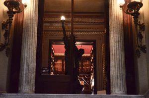 La Estatua de la Libertad de la Biblioteca Arús