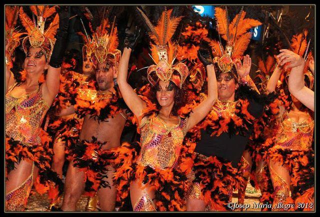 Imagen del Carnaval de Sitges durante una edición pasada.