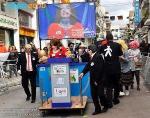 Carrera de camas carnaval sitges 2014.