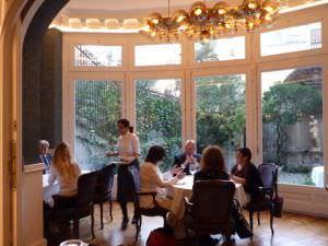 Comedor con cristalera del Rilke