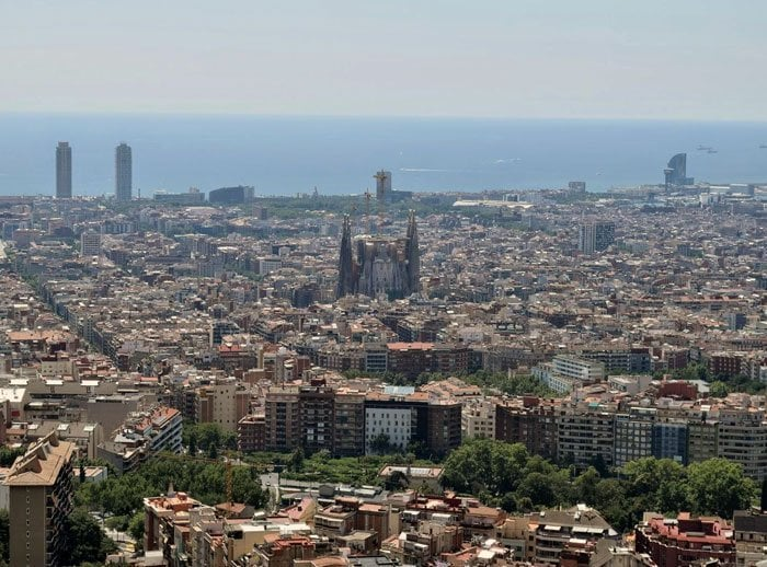 Bunkers Del Carmel Atardecer Con Vista 360º Un Buen Día En Barcelona
