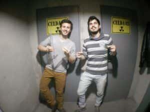 Dos apuestos jugadores que consiguieron escapar del Búnker