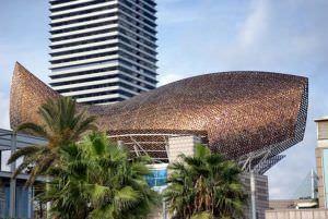 Pez dorado de Gehry