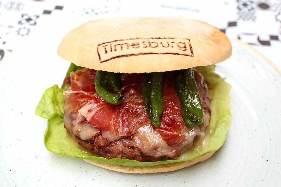 Timesburg hamburguesas gourmet