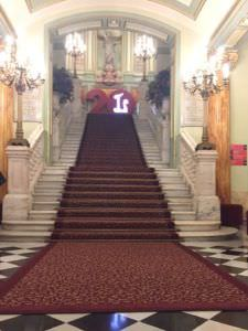 Vestíbulo del Gran Teatre Liceu