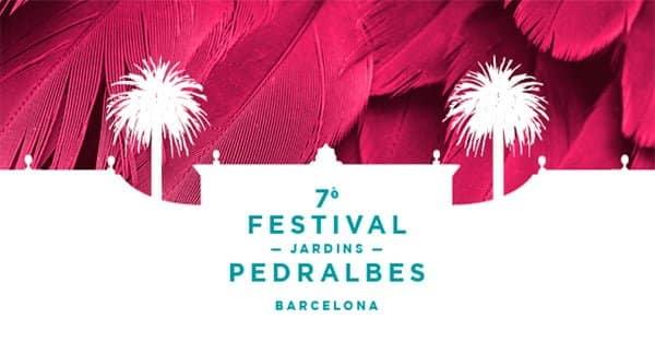 Cartel del 7º Festival Jardines de Pedralbes.