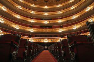 Gran salón, el corazón del Teatre Liceu