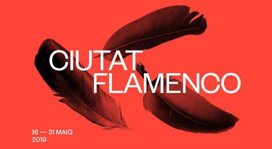 Cartel del festival Ciutat Flamenco 2019.