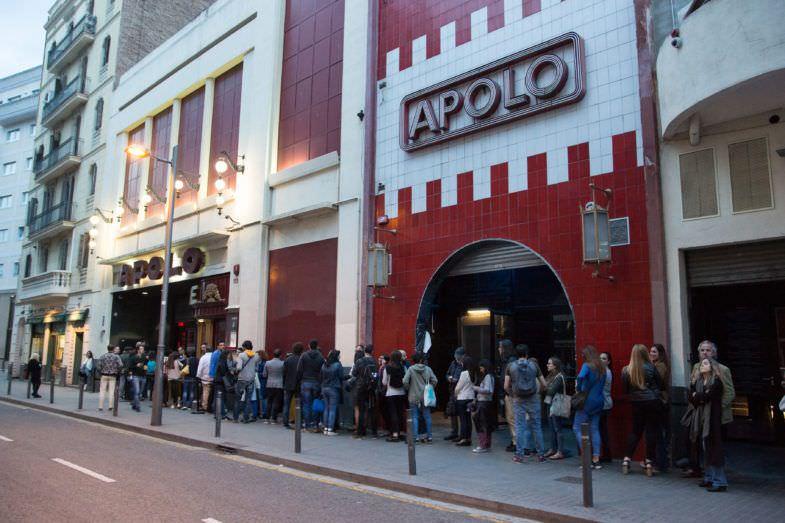 La Sala Apolo durante una edición pasada del festival.
