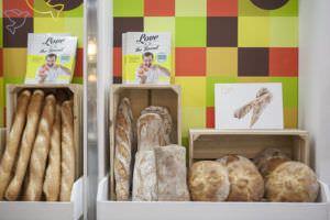Decoración de la panadería Panes Creativos