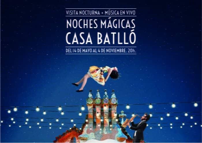 Noches Mágicas en Casa Batlló