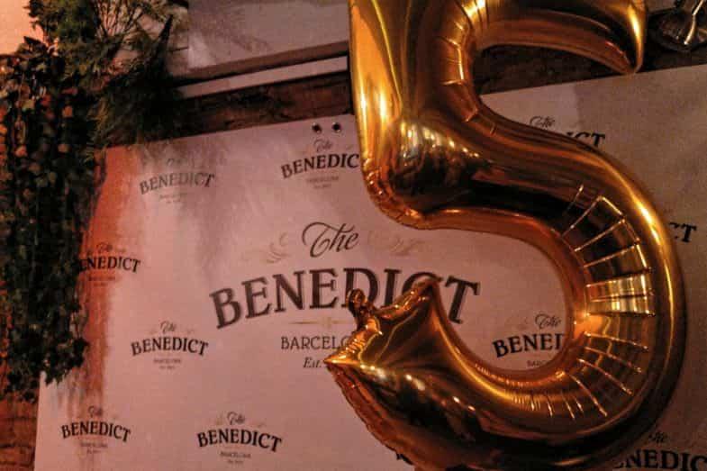 5º Aniversario en The Benedict