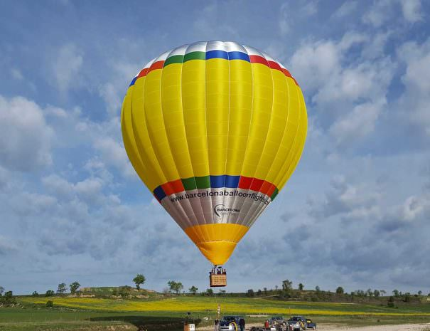 Barcelona Balloon Flight