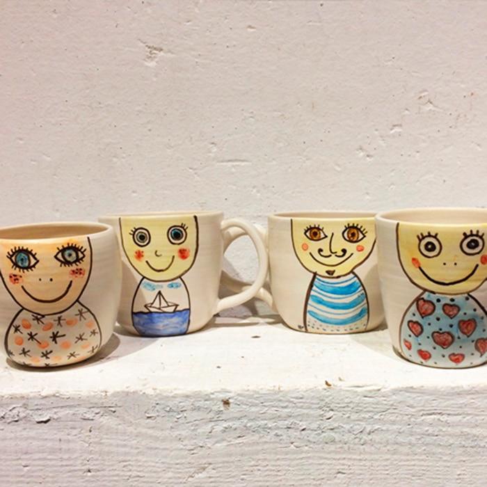 taller ceramica en familia