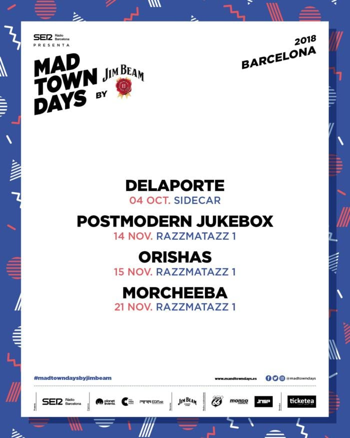 Cartel MTD Barcelona