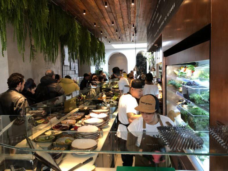 878cad994ece Honest Greens, healthy fast food en el centro • Un buen día en Barcelona