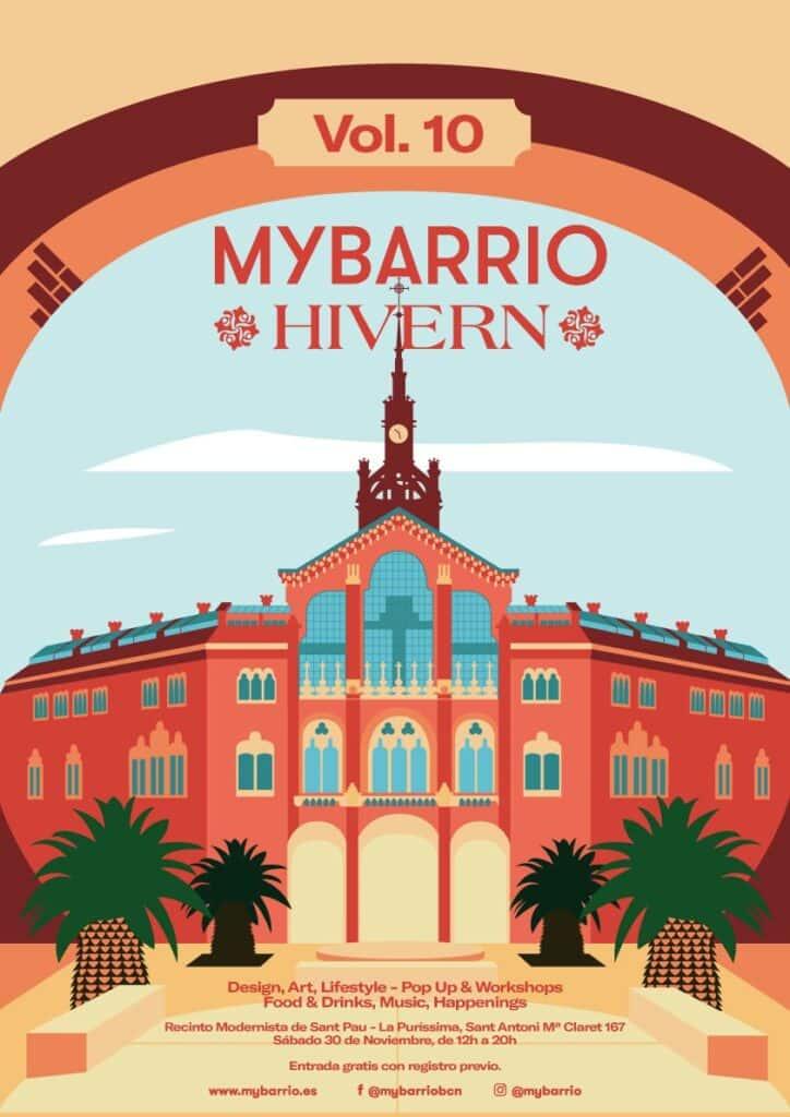 Mercados Navideños. MyBarrio Hivern