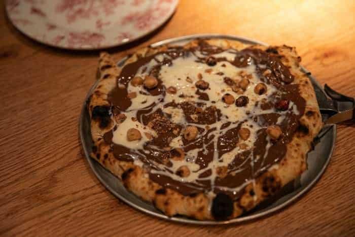 Sweet pizza de Nutella