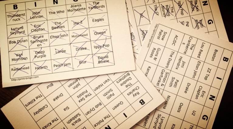 cartones de bingo en barcelona