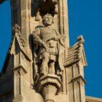 Detalle de la Catedral de Barcelona