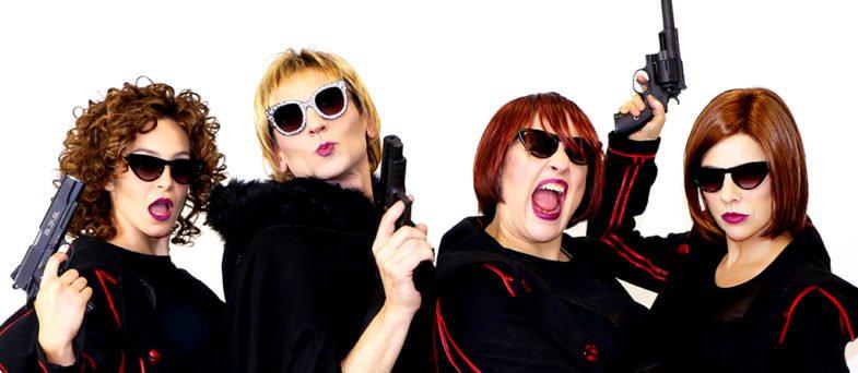 Las intérpretes de El Club de las Asesinas.