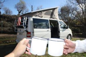 Las autocaravanas y furgonetas campers están totalmente equipadas