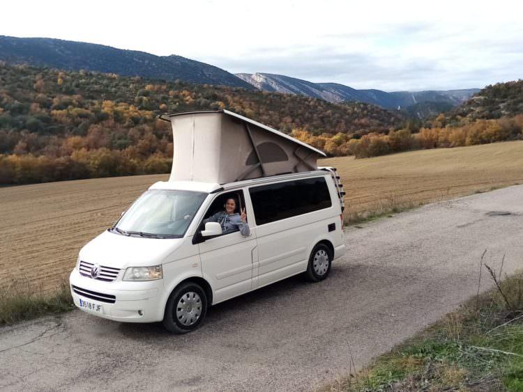 Aventura en autocaravana con Yescapa