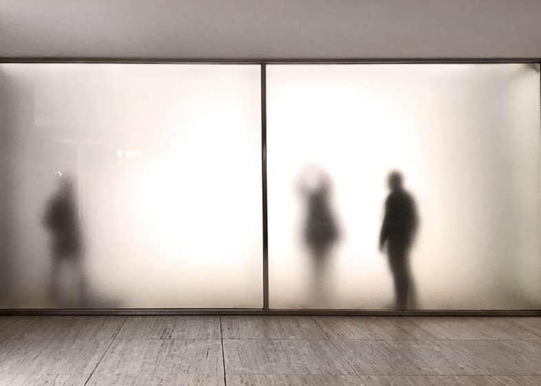 Pabellón de Mies Van der Rohe en Montjuic.