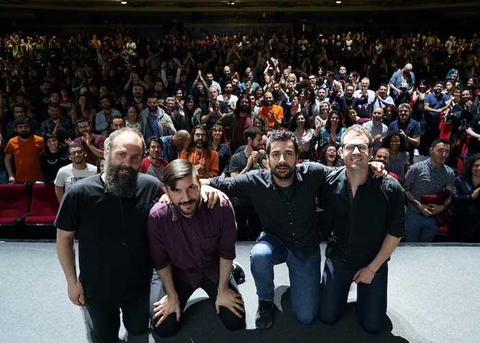 Toundra tras el espectáculo en Madrid