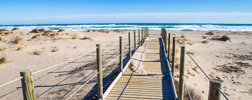La playa del Prat
