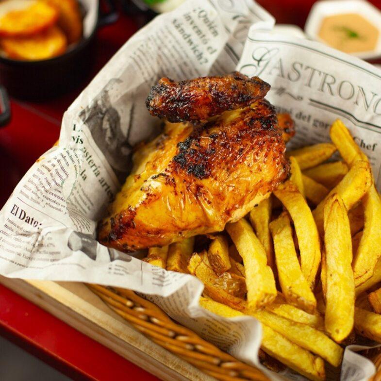 pollo a l´ast