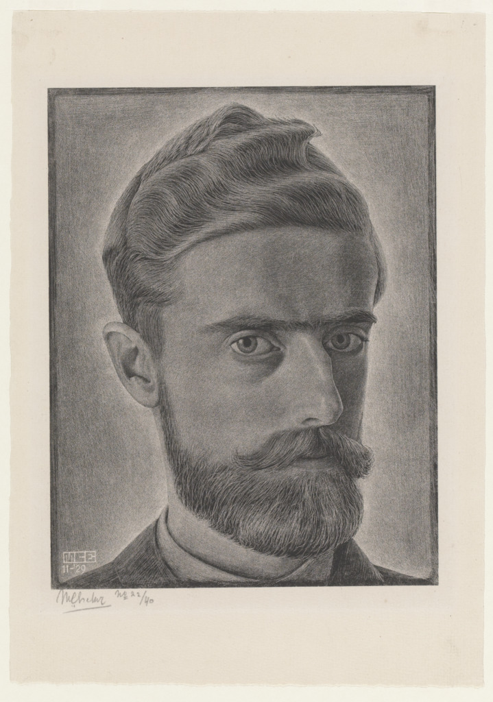 Escher Autorretrato