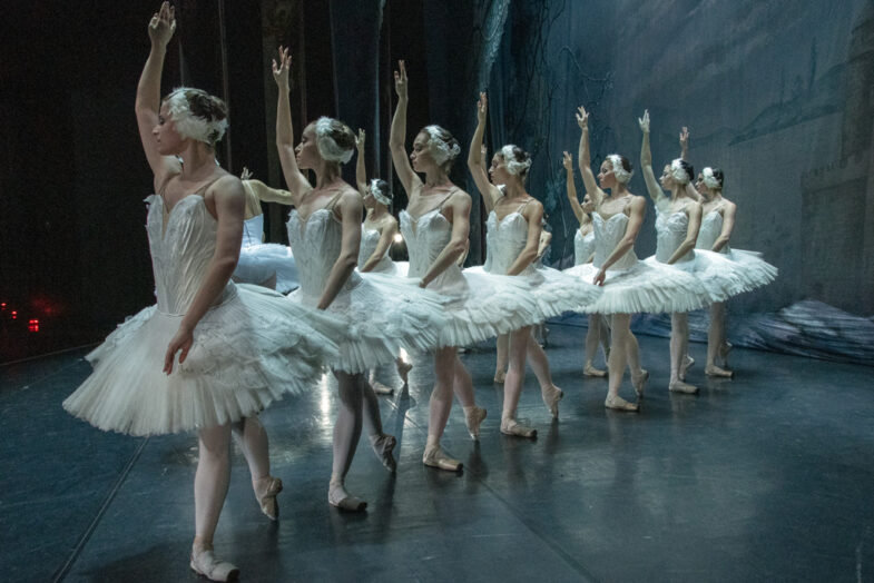 Ballet de Moscú - el Lago de Los Cisnes.