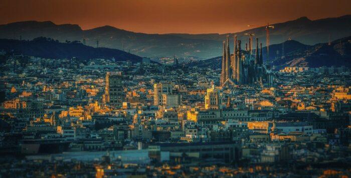 barcelona desde las alturas